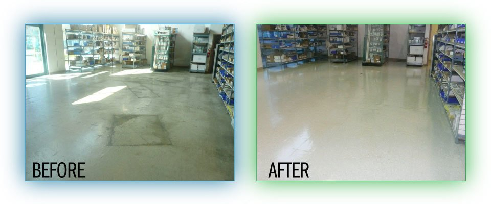 Floor before and after - 4